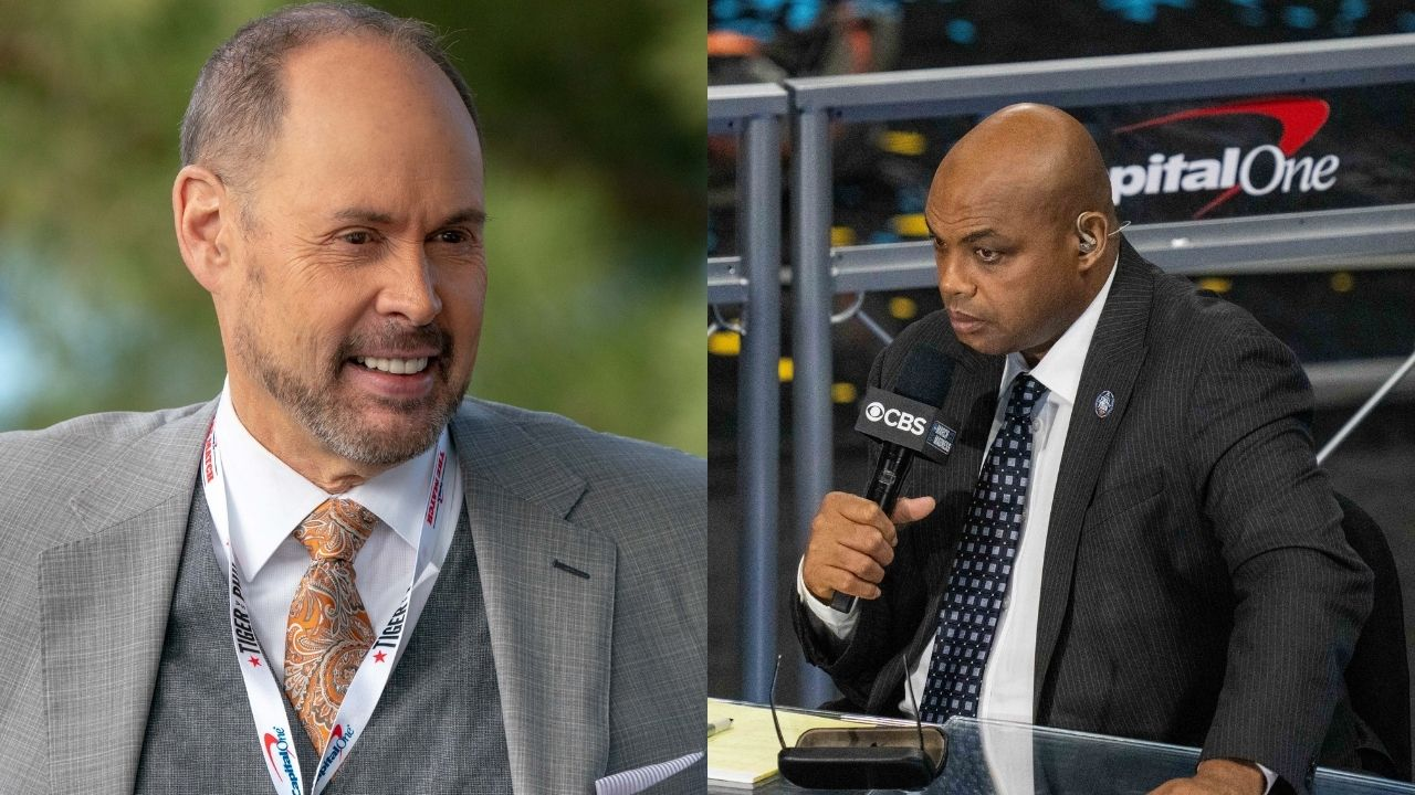 """""""Charles Barkley just got beat by a grandpa"""": When Ernie Johnson hilariously beat the 'Hall of Famer' in a 3-point shootout on NBAonTNT"""