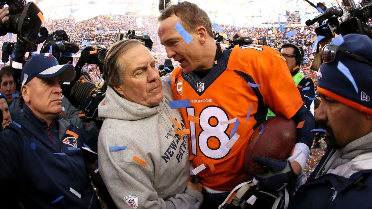 """""""The New England Patriots used to bug the locker rooms"""": When Peyton Manning held meetings in the showers every time we played at Gillette Stadium"""