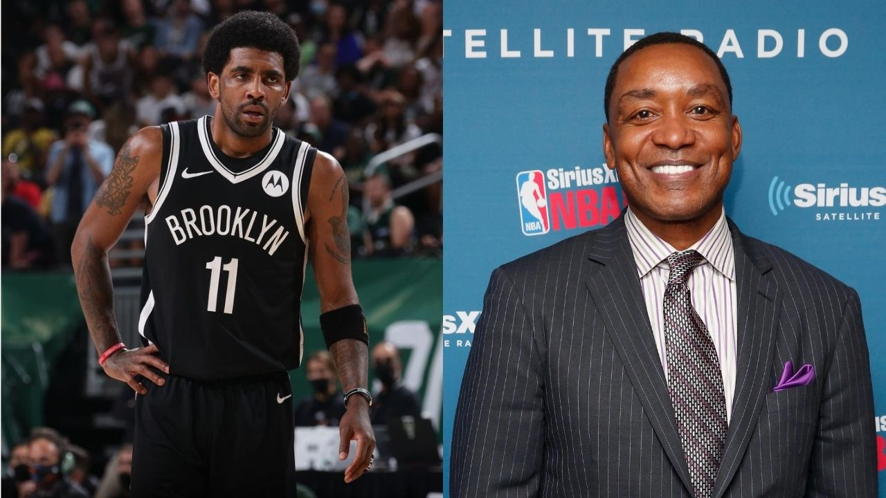 """""""The Brooklyn Nets cannot, and will not, win the championship if Kyrie Irving is not there"""": Pistons' legend Isiah Thomas backs Uncle Drew and re-instates his importance to his teams"""