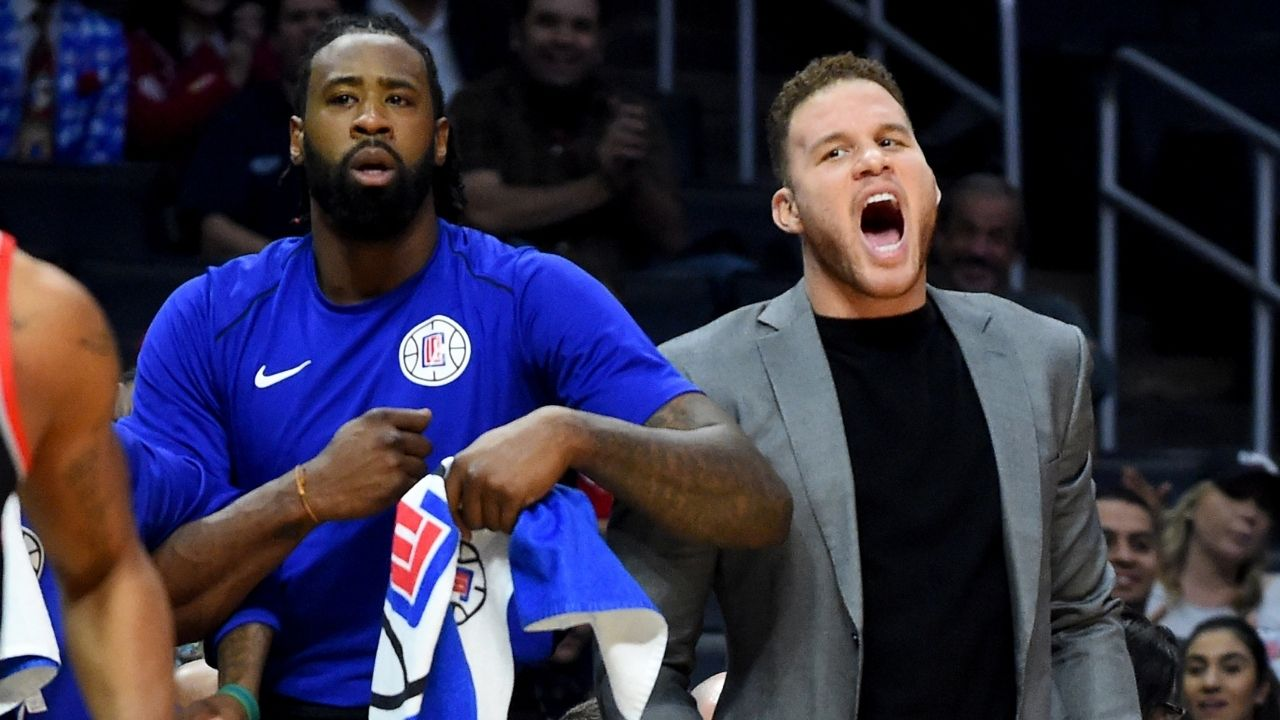 """""""That was the funniest day on NBA Twitter"""": Blake Griffin comments on DeAndre Jordan and his 2015 free agency saga, including Chris Broussard's 'Beggin thru texts' tweet"""