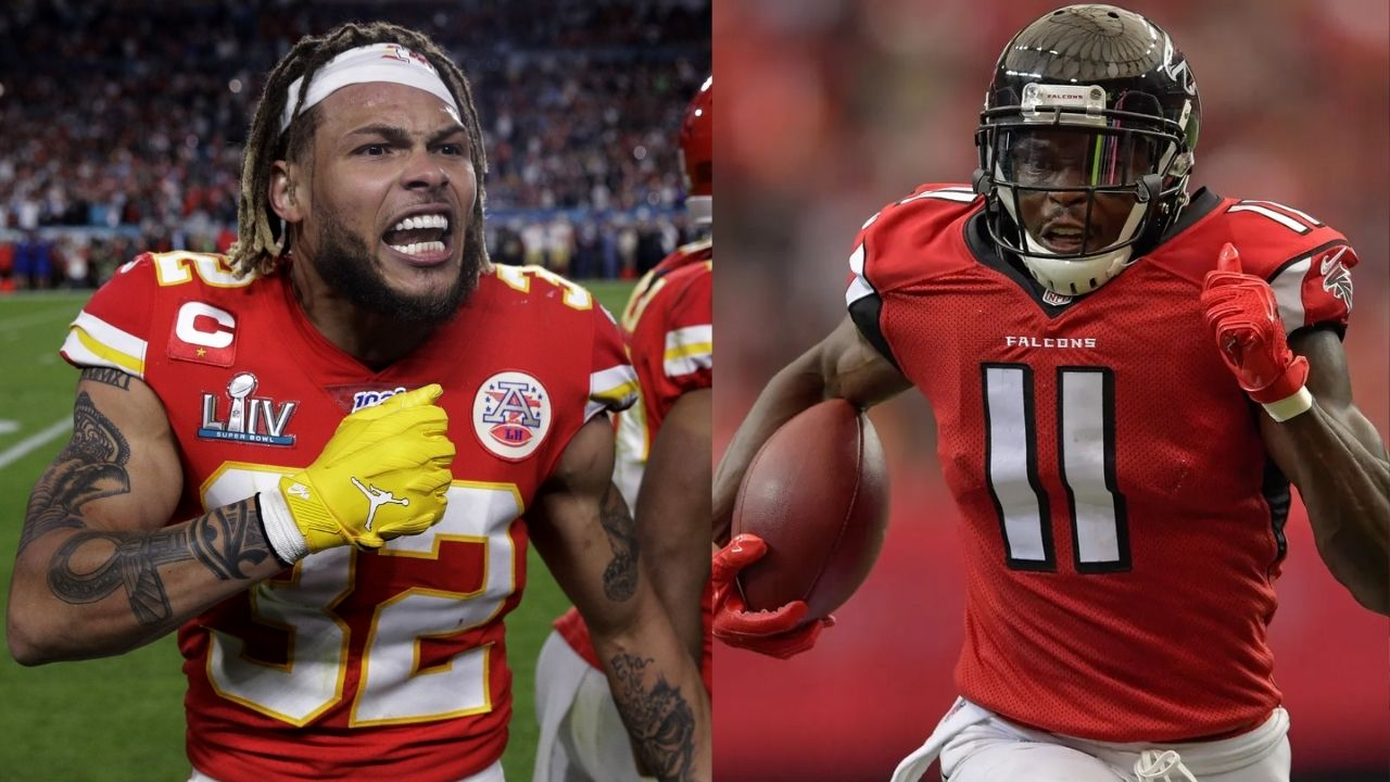 """""""First time tackling Julio Jones felt like I had run into a wall"""" When Tyrann Mathieu discovered the unbelievable strength of Titans WR"""