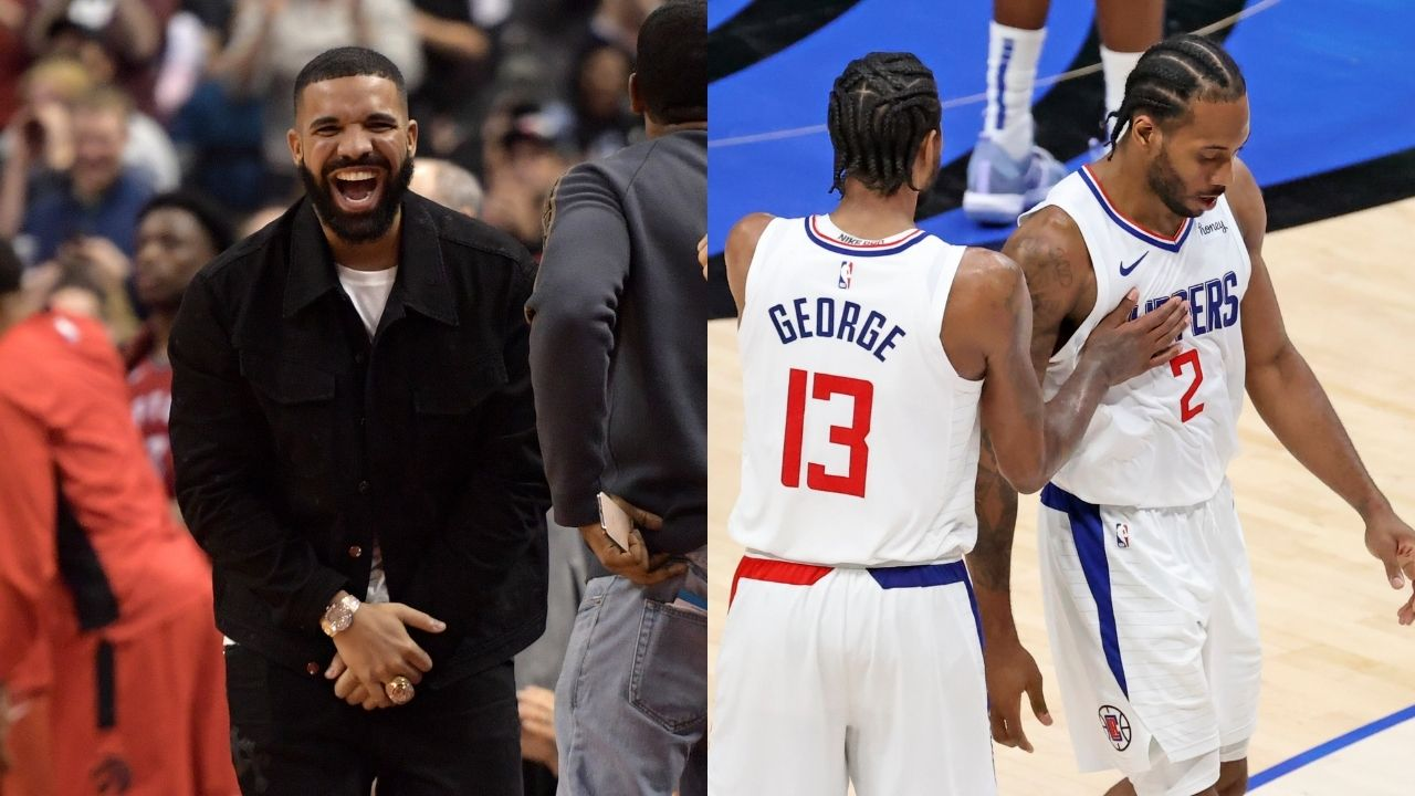 """""""Kawhi Leonard and Paul George plotted Los Angeles team-up at Drake's house"""": Clippers superstars reportedly decided to join forces at the Toronto rapper's house"""