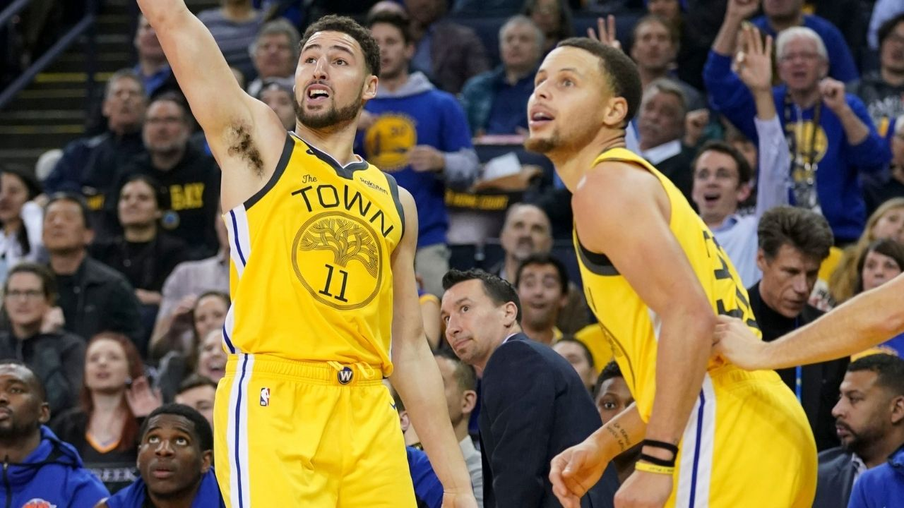 """""""If Klay Thompson is healthy in February, the Warriors are meeting the Lakers in the Conference Finals!"""": Stephen A Smith re-iterates his faith in the Splash Brothers and Golden State"""
