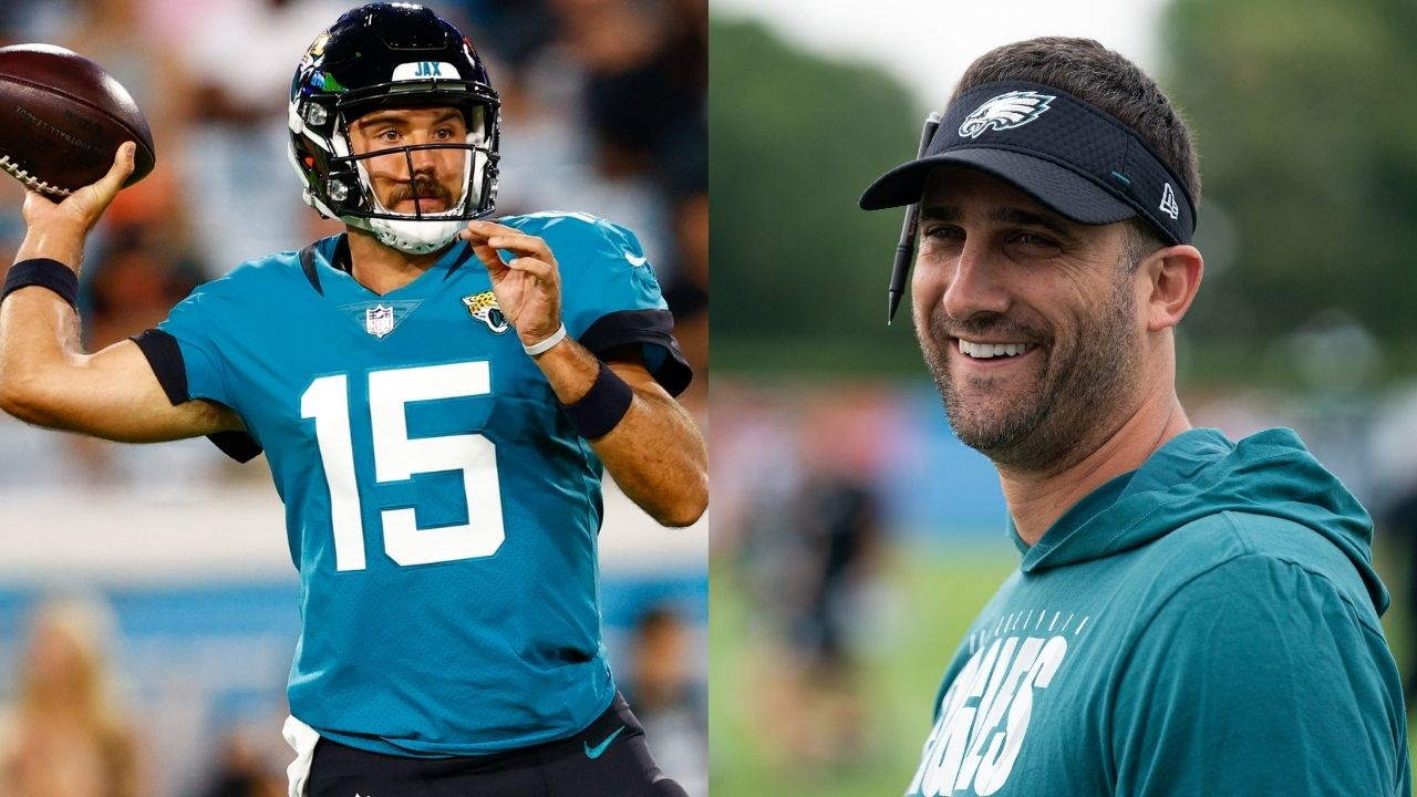 """""""I'm really excited to work with Gardner Minshew"""": Eagles HC Nick Sirianni says he is a fan of the former Jaguars QB."""