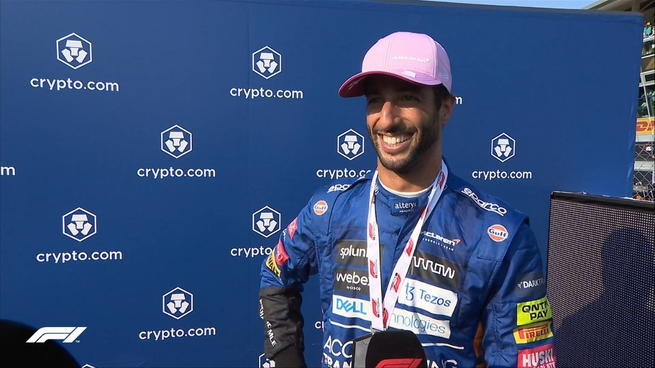 """""""It's been a long time to wait to be in this position""""– Daniel Ricciardo grabs first Sprint Race podium with McLaren"""