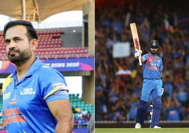 """""""Came as a shock"""": Irfan Pathan responds to Virat Kohli stepping down from T20I captaincy after T20 World Cup 2021"""