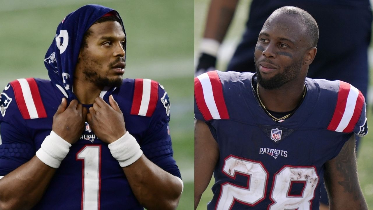 """""""Cam Newton worked extremely hard, I hope he lands on his feet"""": James White Can't Believe The New England Patriots Released The 2015 NFL MVP"""