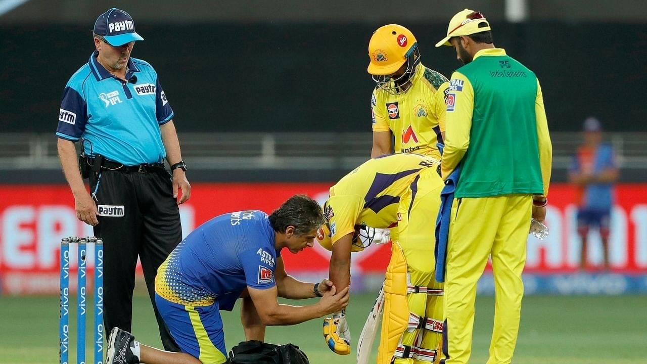Ambati Rayudu injury: What happened to Rayudu in CSK vs MI IPL 2021 match?