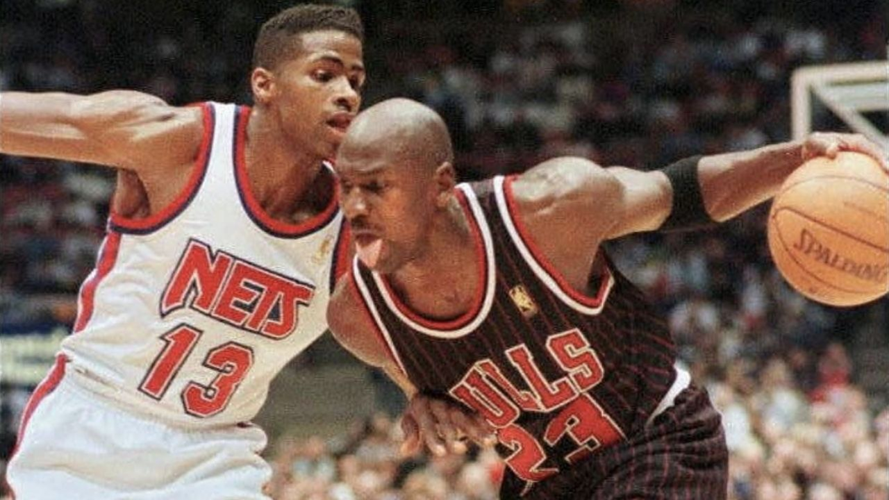 """""""Michael Jordan was a freak of an Athlete Man"""": NBC Analyst Kendall Gill recounts on being completely stumped by the GOAT during his rookie year"""