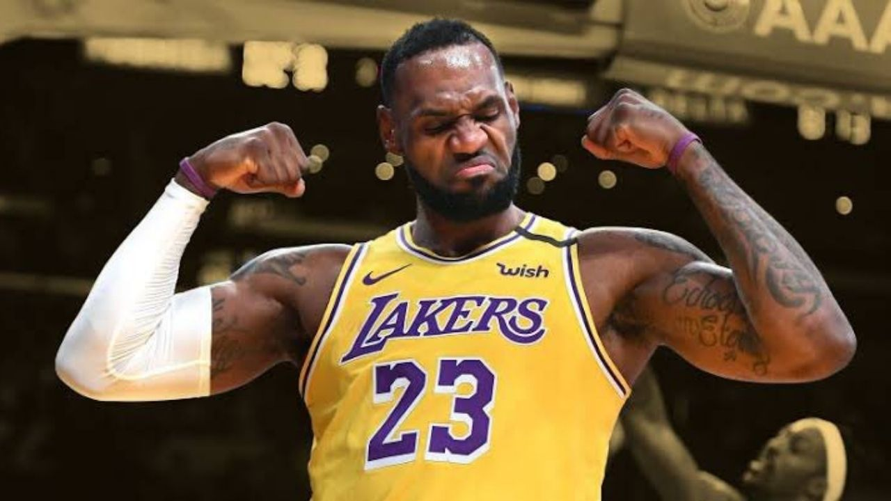 """""""Did Michael Jordan really just say he couldn't stop LeBron James?!"""": When the Bulls legend discussed how a 1v1 matchup between him and the Lakers superstar would go"""