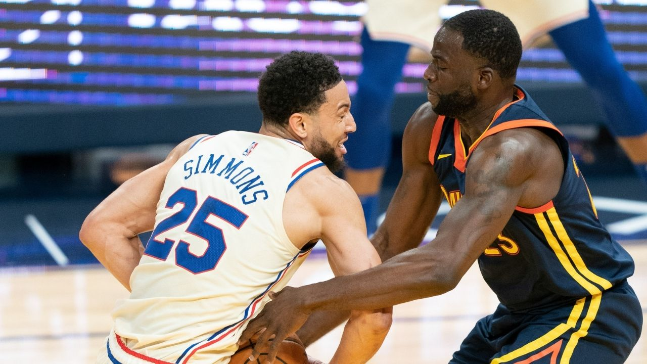 """""""Draymond Green and Ben Simmons are basically the same player to me!"""": Kendrick Perkins makes an absolutely shocking hot take about the 76ers and Warriors stars amid trade rumors"""