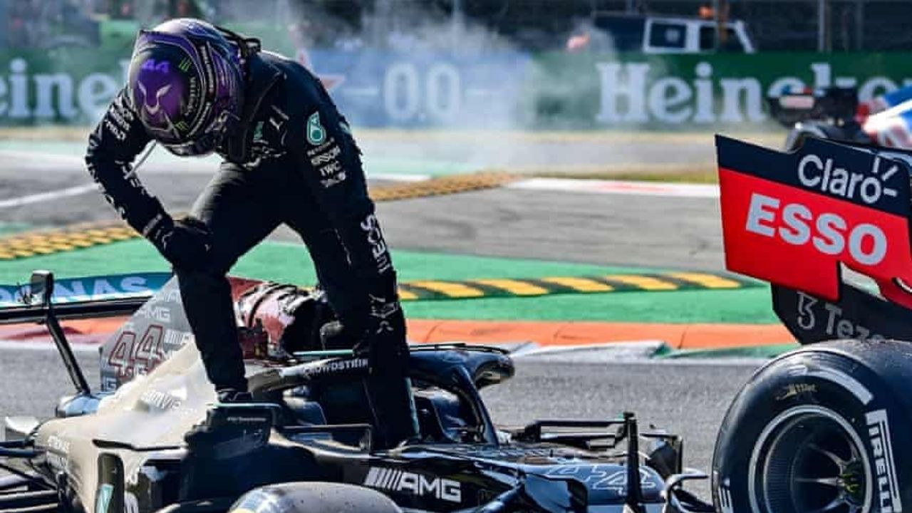 """""""I don't really listen to what these individuals talk about""""– Lewis Hamilton responds to Helmut Marko's """"suddenly injured"""" statement"""