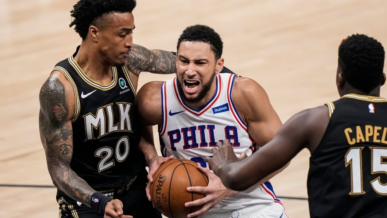 """""""Sixers gave a half a**ed commitment to Ben Simmons!"""": Kendrick Perkins goes off on the 76ers organization for pushing the DPOY candidate out the door"""