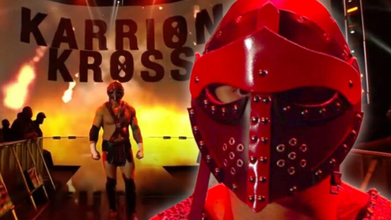 Karrion Kross explains why he started to wear a mask on the Main Roster