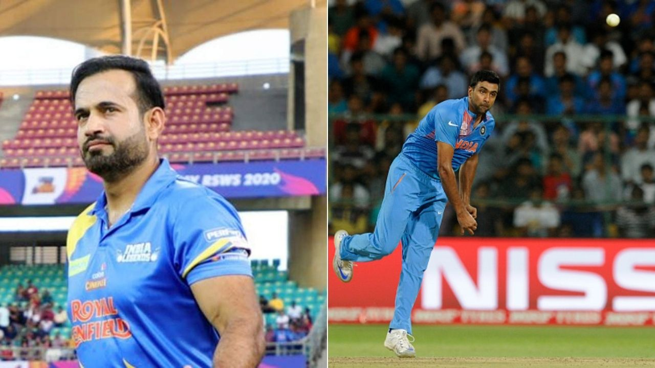 """""""Good to see Ash back"""": Irfan Pathan supports R Ashwin's T20I comeback for ICC T20 World Cup 2021"""