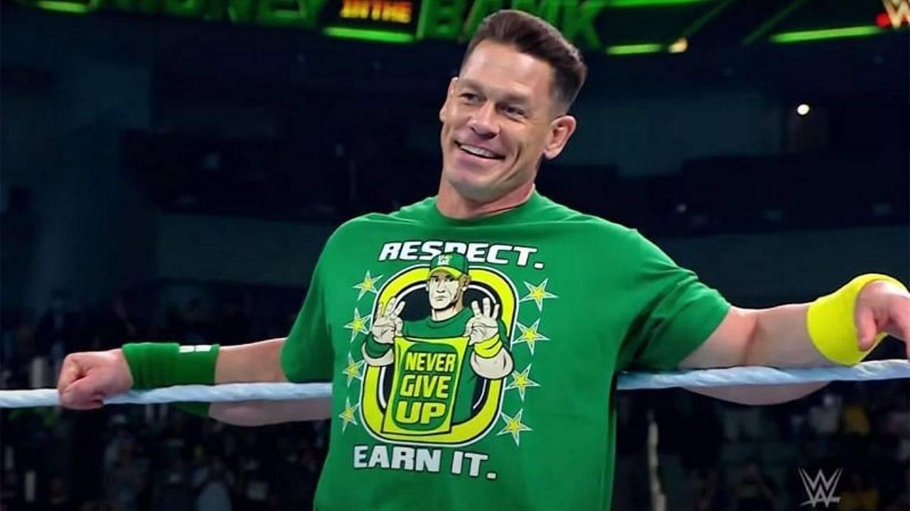 John Cena names his favorite actor in WWE