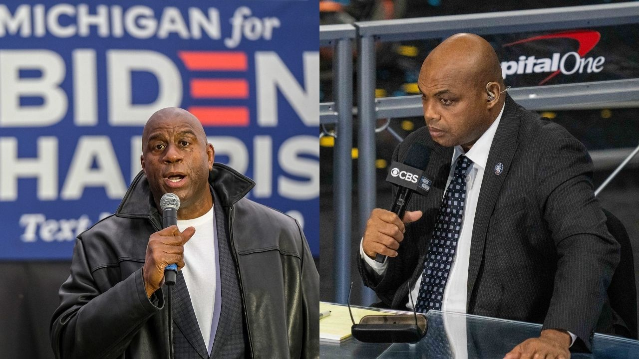 """""""Not like we're going to have unprotected s*x with Magic Johnson"""": When Charles Barkley put the Lakers legend's HIV contraction into perspective with a wild statement"""