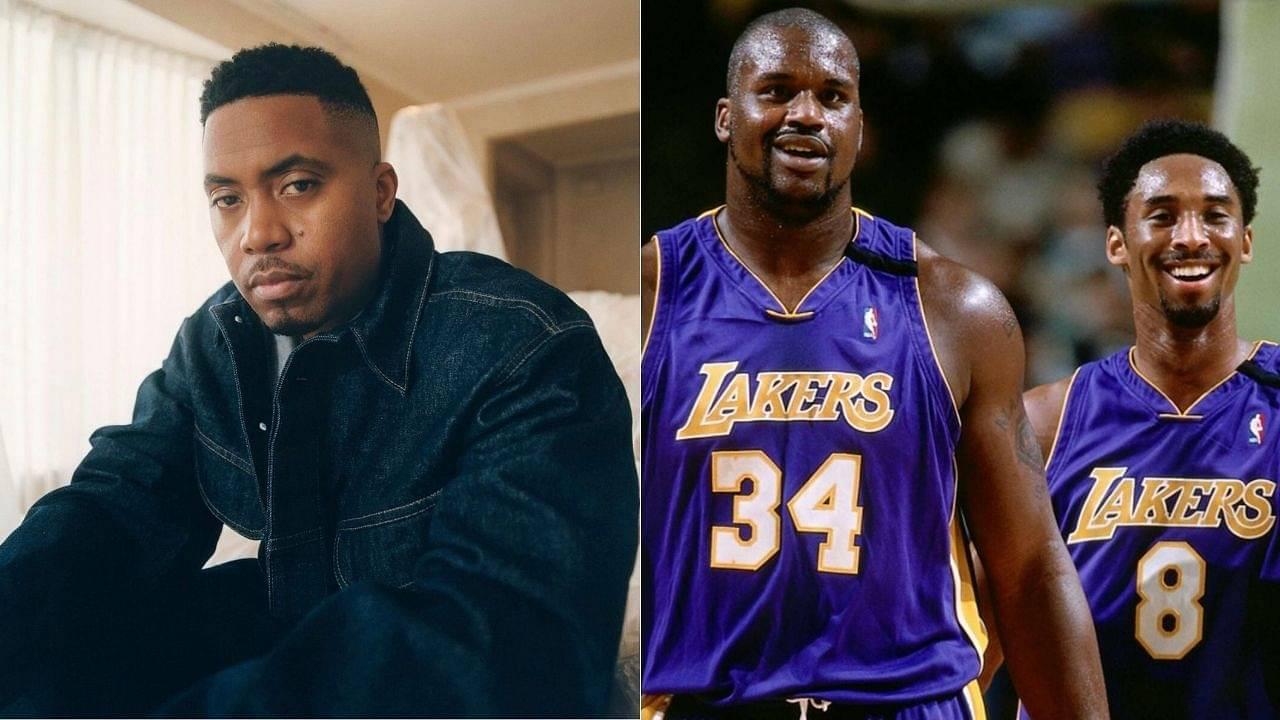 """Shaq got a classic hip-hop album!"": Nas believes Lakers' big man was much better than Kobe Bryant as a rapper"