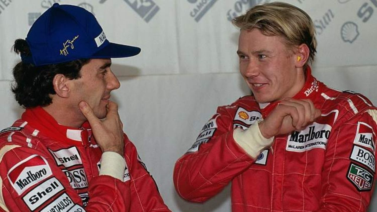 """That made him totally mad""– When rookie Mika Hakkinen antagonized Ayrton Senna"