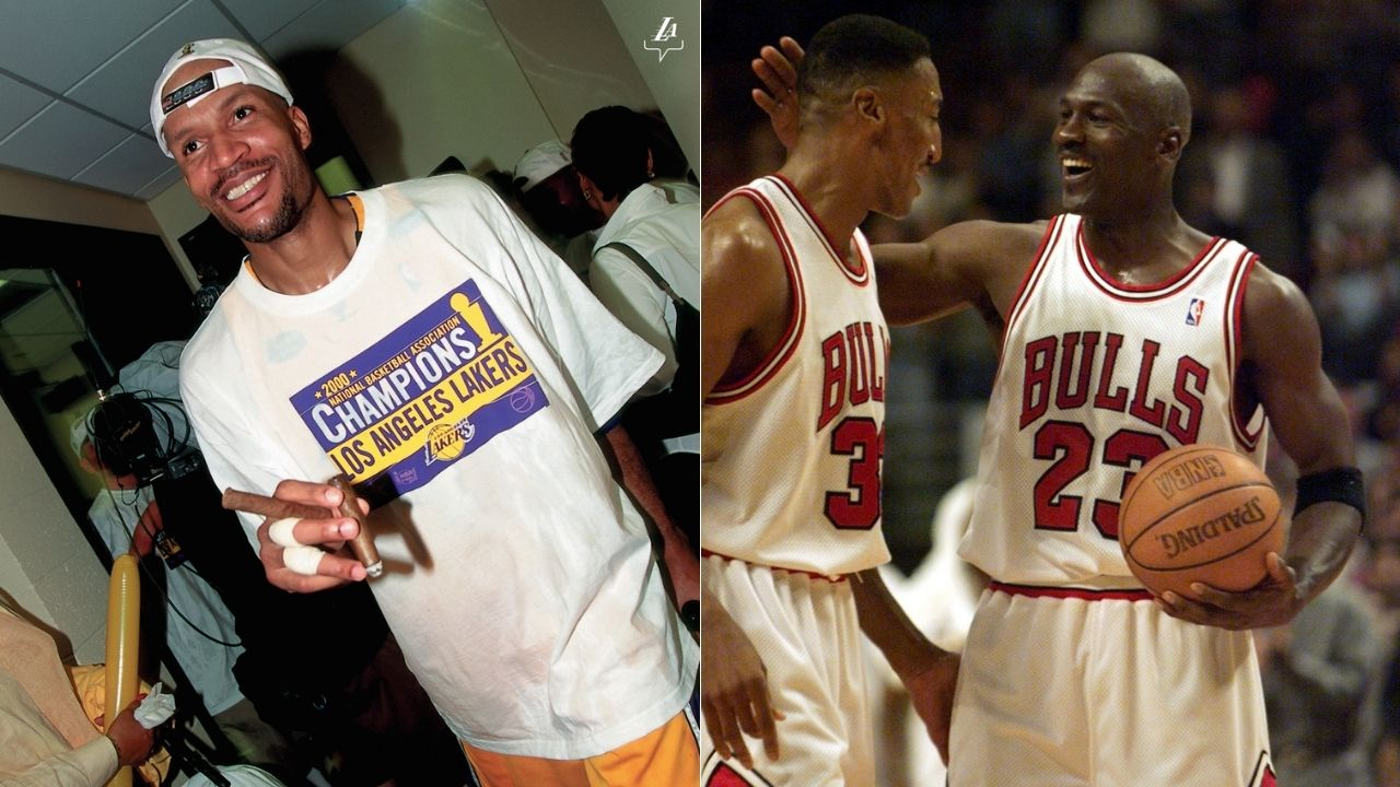 """""""Ron Harper's elite defense helped Bulls secure their second 3-peat"""": Kendall Gill reveals some interesting details about the Bulls' defense"""