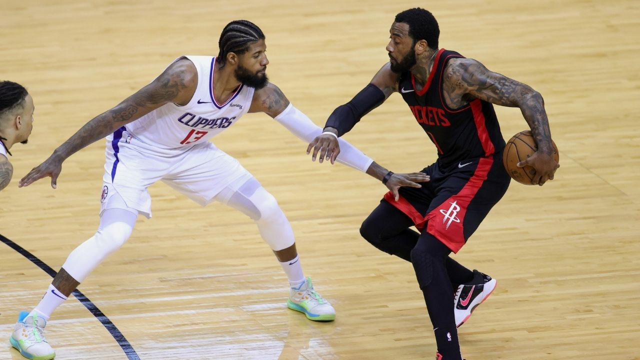 """""""So Paul George just out here hanging out with John Wall now?"""": NBA Trade rumors spark as Clippers star is seen on an outing with the Rockets guard in Beverly Hills"""