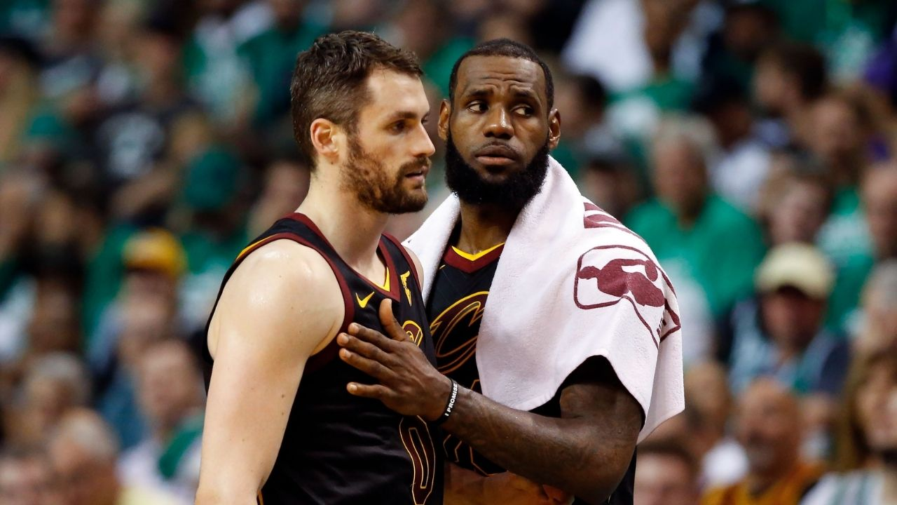 """""""Kevin Love do have some pretty eyes"""": Charles Barkley declares his man-crush on the former NBA champion"""