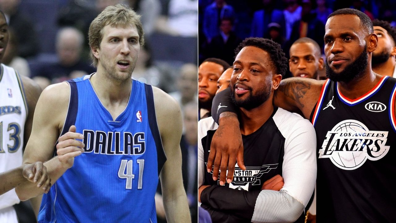 """""""Never forget Dirk Nowitzki completely ignoring LeBron James in his last All-Star game"""": NBA Twitter serves up reminder of feud between Lakers and Mavericks legends"""