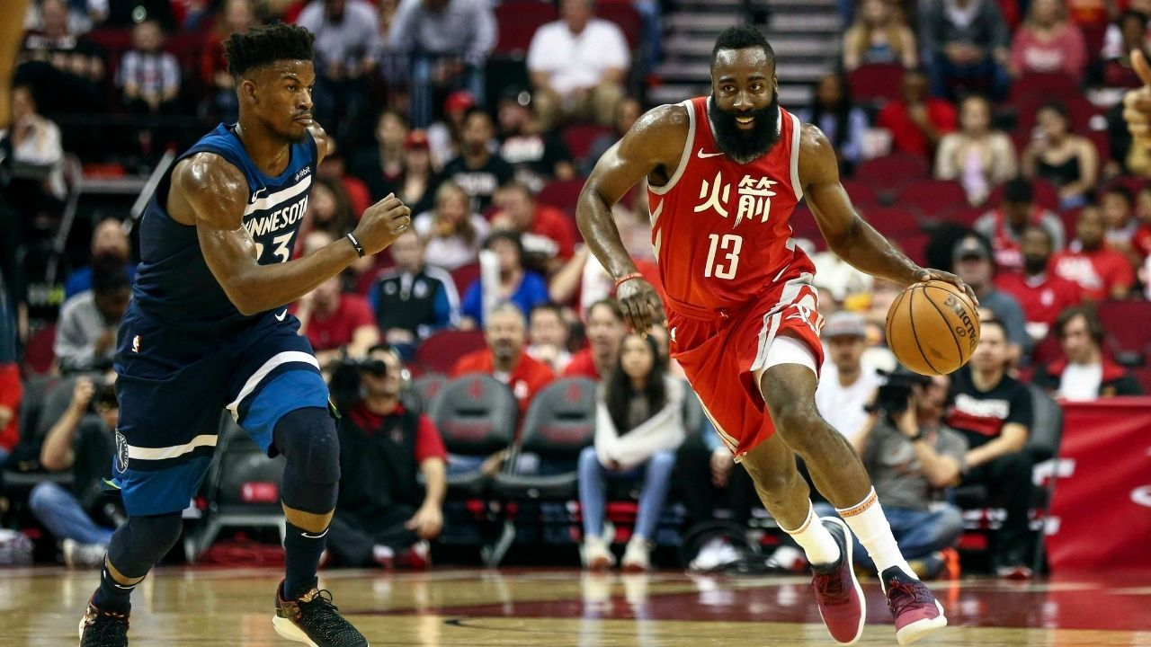 """""""James Harden is pretty soon gonna do a handstand and kick the motherfu**er in the basket"""": When Jimmy Butler revealed how The Beard was the most unstoppable player in the league"""
