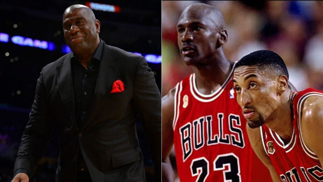 """""""Had Jerry Krause kept Michael Jordan and Scottie Pippen happy, they would have 12 championships by now"""": Magic Johnson took subtle shots while explaining how the Bulls' front office destroyed the dynasty"""
