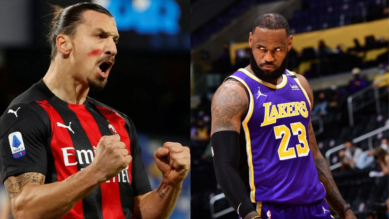 """""""We're not politicians... Politicians divides people, sports unites them"""": Zlatan Ibrahimović talks about LeBron James and discusses their difference in opinions"""