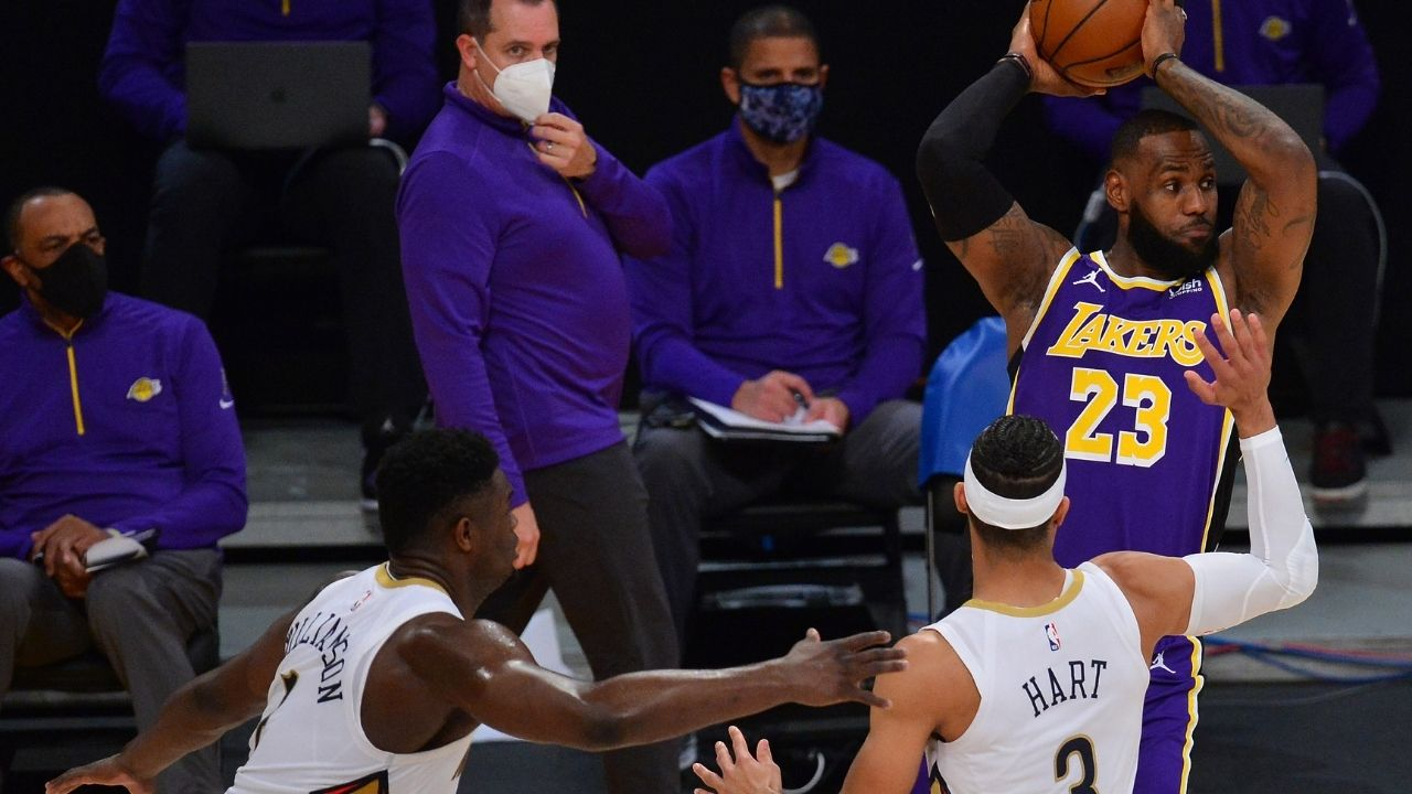 """""""Ronnie 2K is doing LeBron James dirty, man!"""": Zion Williamson believes Lakers star deserves a 99 after ratings for all players are released"""