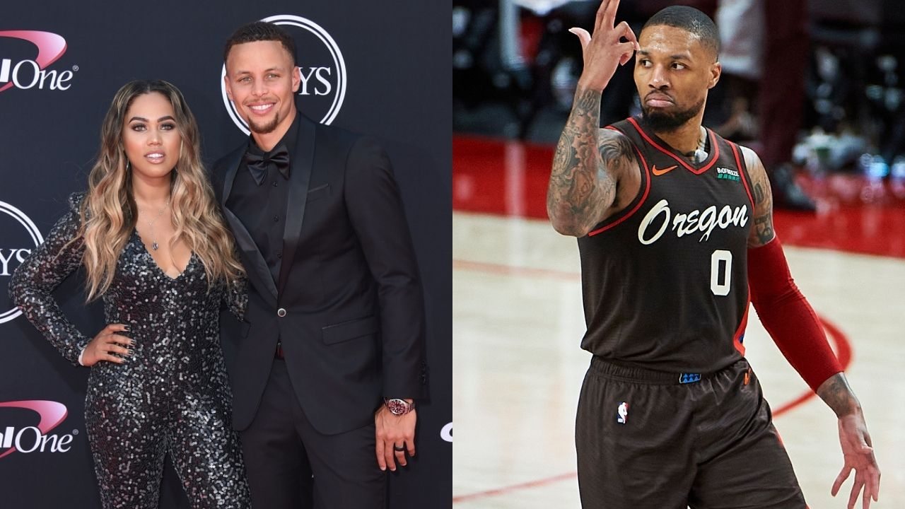 """""""My husband, Stephen Curry, has beat all 3 of you"""": When Ayesha Curry hilariously chimed in on the Damian Lillard-Paul George beef from 'the Bubble'"""