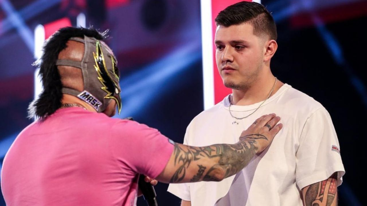 Rey Mysterio discusses possible feud with son Dominik Mysterio