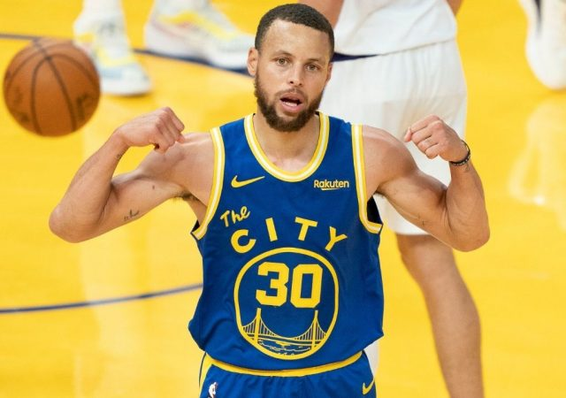 """""""Stephen Curry really shot 50% from the three-point liner after 7 or more dribbles"""": The Warriors MVP tops Luka Doncic, Jayson Tatum and others for yet another crazy three-point stat"""