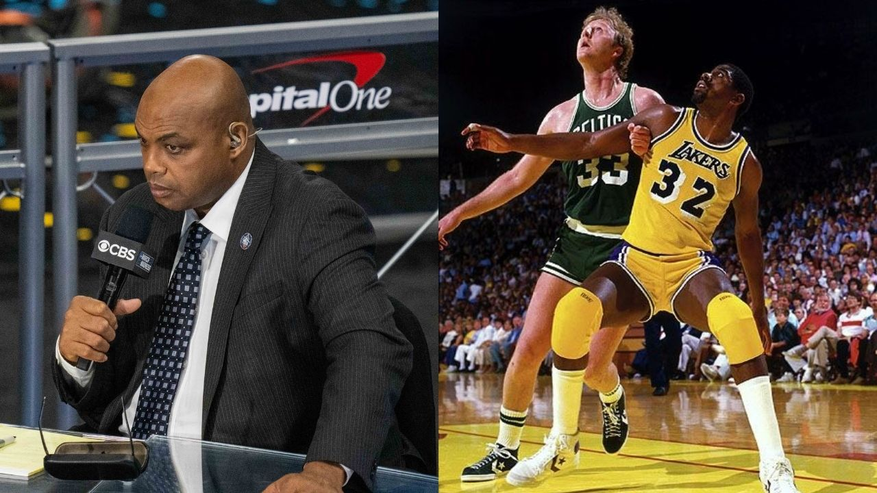 """""""Mike Tyson caused Charles Barkley to throw his drinks in the air and storm off"""": Magic Johnson hilariously narrates the time when the 'Dream Team' watched 'Iron Mike' box"""