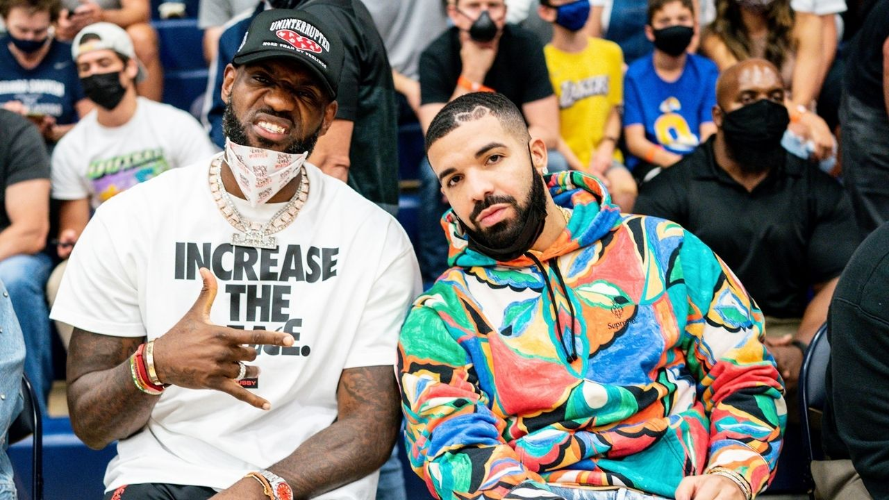 """""""LeBron James sat and rehearsed with Drake before uploading this story"""": NBA Twitter is surprised as the Lakers' superstar vibes to Drake's Having our Way"""