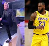"""""""LeBron James is a little different now, he has got some love handles"""": Skip Bayless at it again, questions Lakers star's fitness and their title chances"""