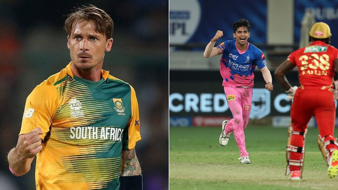 """Close to the best last over"": Dale Steyn commends Kartik Tyagi for defending 4 runs in last over vs Punjab Kings"