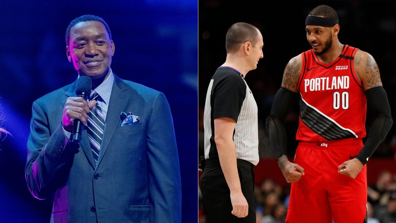 """""""I look at Isiah Thomas like 'You a sucker for that.' You don't do no s*** like that"""": Carmelo Anthony opens up about the Nuggets-Knicks brawl instigated by the Knicks coach Isiah Thomas"""