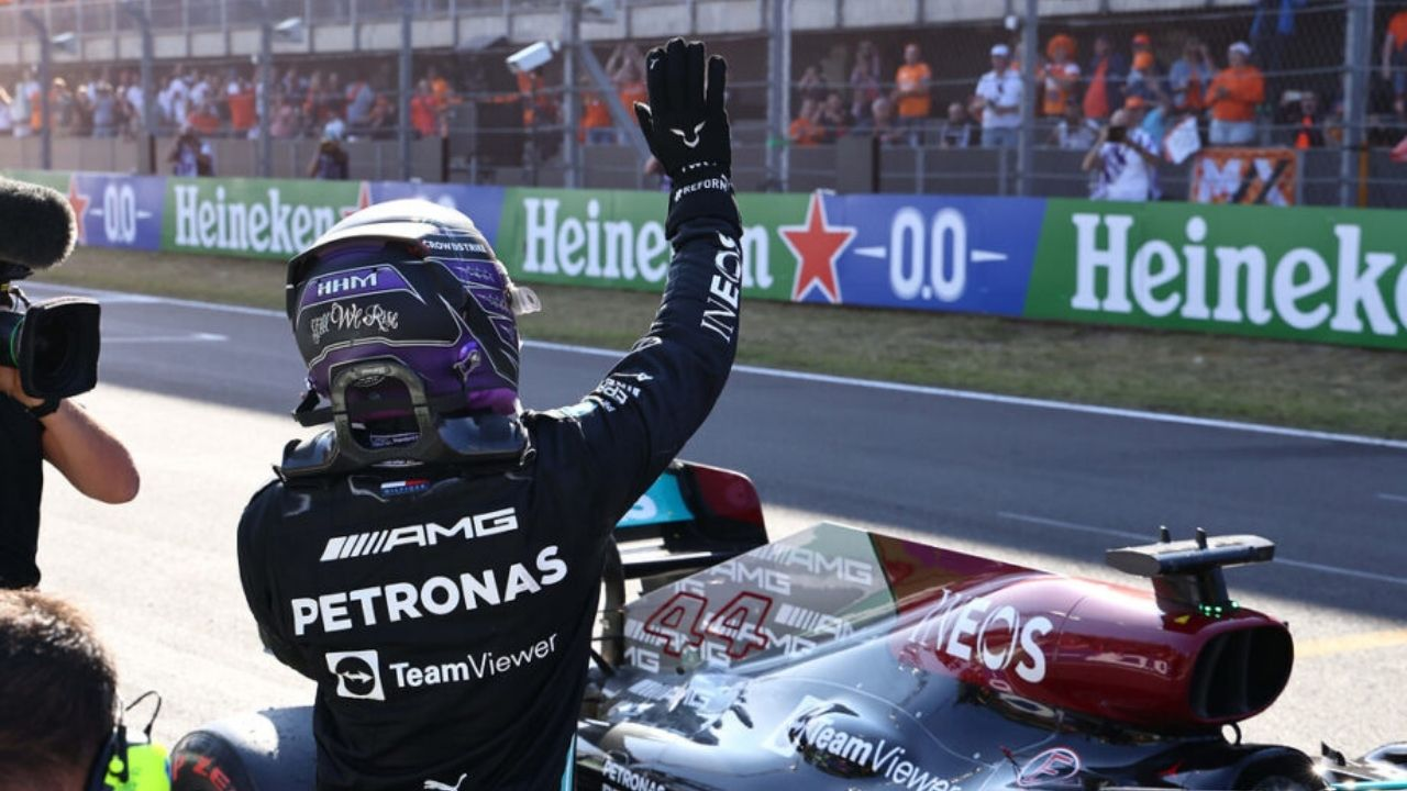 """""""We didn't really know what to expect""""– Lewis Hamilton surprised by reception received at Zandvoort"""