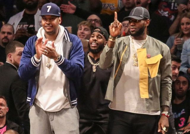 """""""The great Carmelo Anthony was absolutely correct about his prediction for the LA Lakers"""": Shaquille O'Neal endorses Melo's take of championship or bust year for the Lakers"""