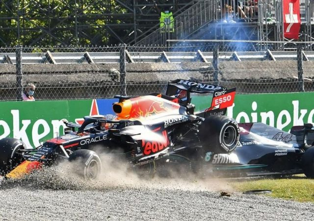 """""""This is exactly what Formula 1 needs""""– Gerhard Berger on Max Verstappen-Lewis Hamilton crash in Monza"""