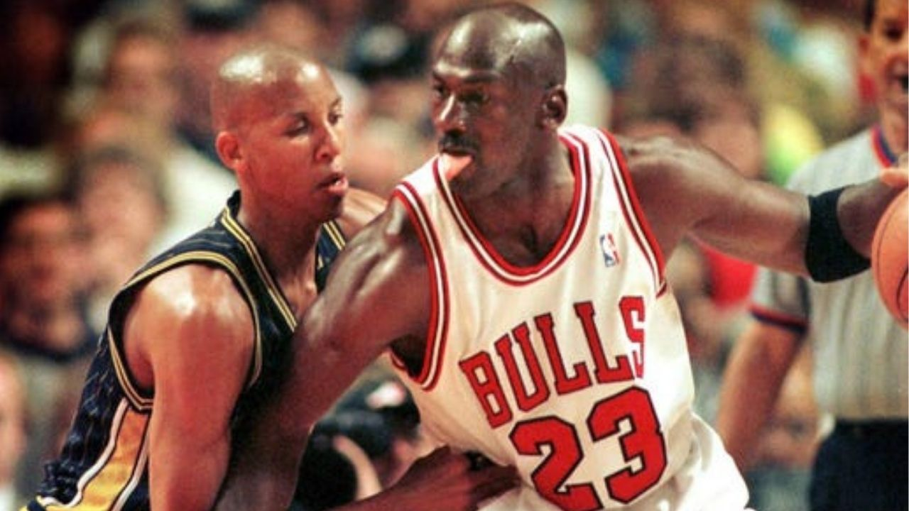 """""""Lightly shoved Michael Jordan for the game-winner"""": When Reggie Miller hilariously downplayed his 'push-off' on the Bulls legend en route to a stellar ECF Game 4 dagger"""