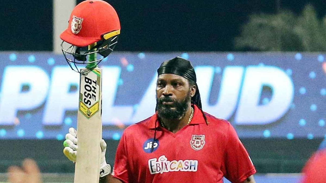 Why is Chris Gayle not playing today's IPL 2021 match vs Rajasthan Royals?