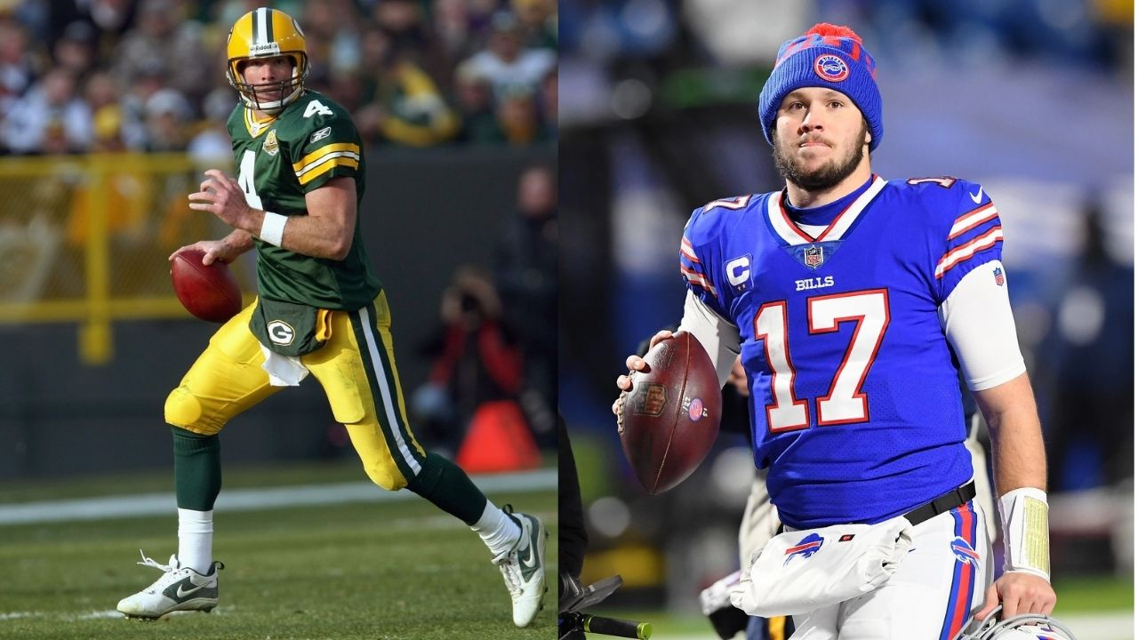 """""""Josh Allen is the most like I was"""": HOFer Brett Favre names the QB he thinks resembles him in the current generation"""