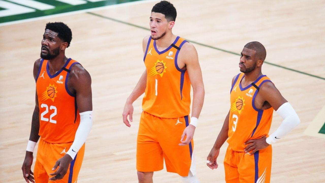 """""""All love for Devin Booker, Chris Paul and Phoenix Suns but it's going to be tough for them"""": Matt Barnes explains why the 2021 Finalists won't replicate the success they saw last season"""