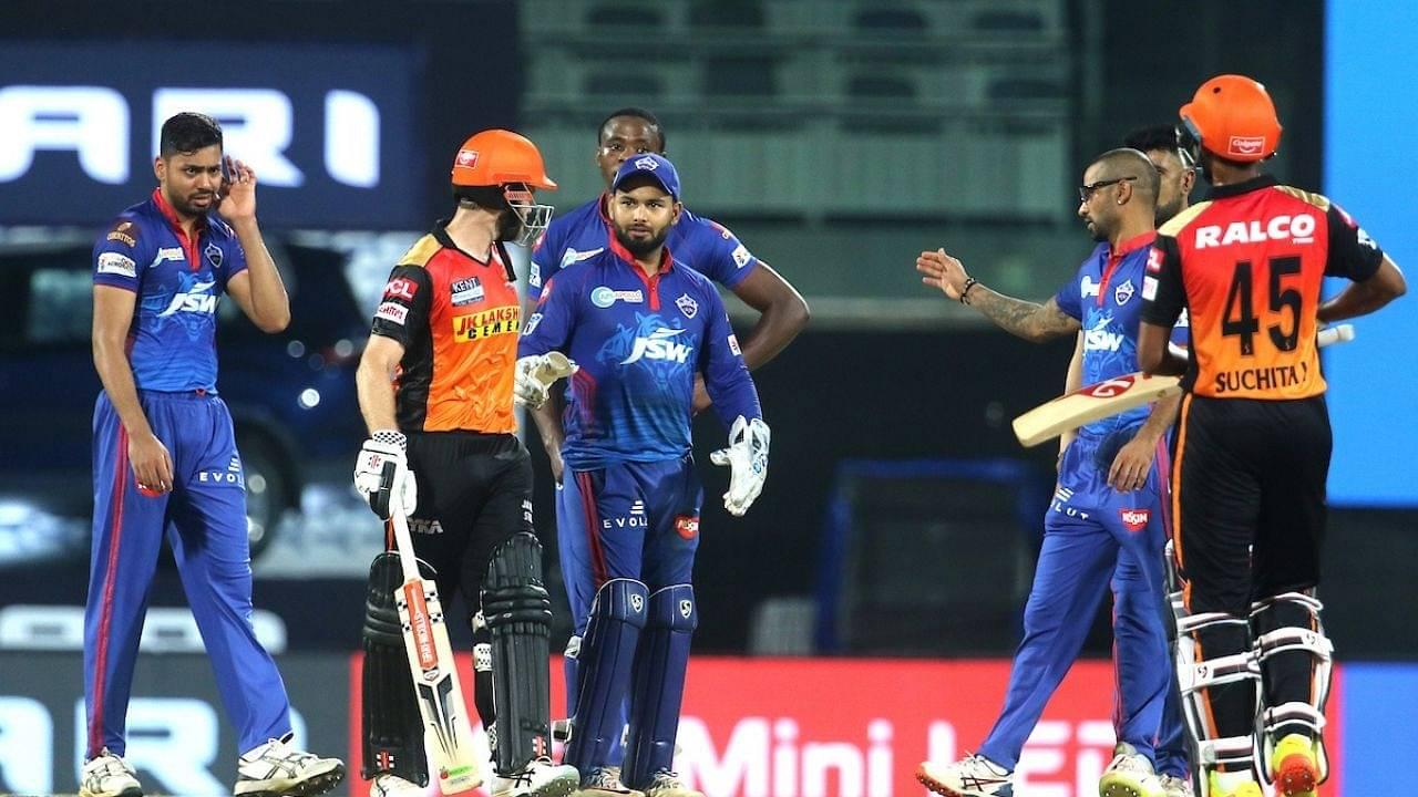 Delhi vs SRH Head to Head in IPL history | Delhi Capitals vs Sunrisers Hyderabad IPL Stats | IPL 2021 Match 33