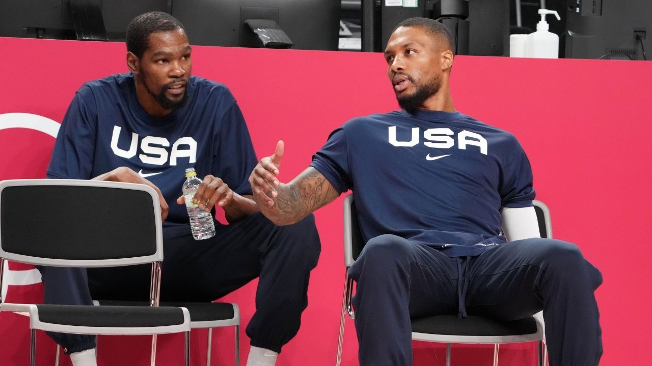 """""""Not everyone has the luxury of being Kevin Durant!"""": Damian Lillard ruthlessly fires back at NBA skills trainer for misleading advice"""