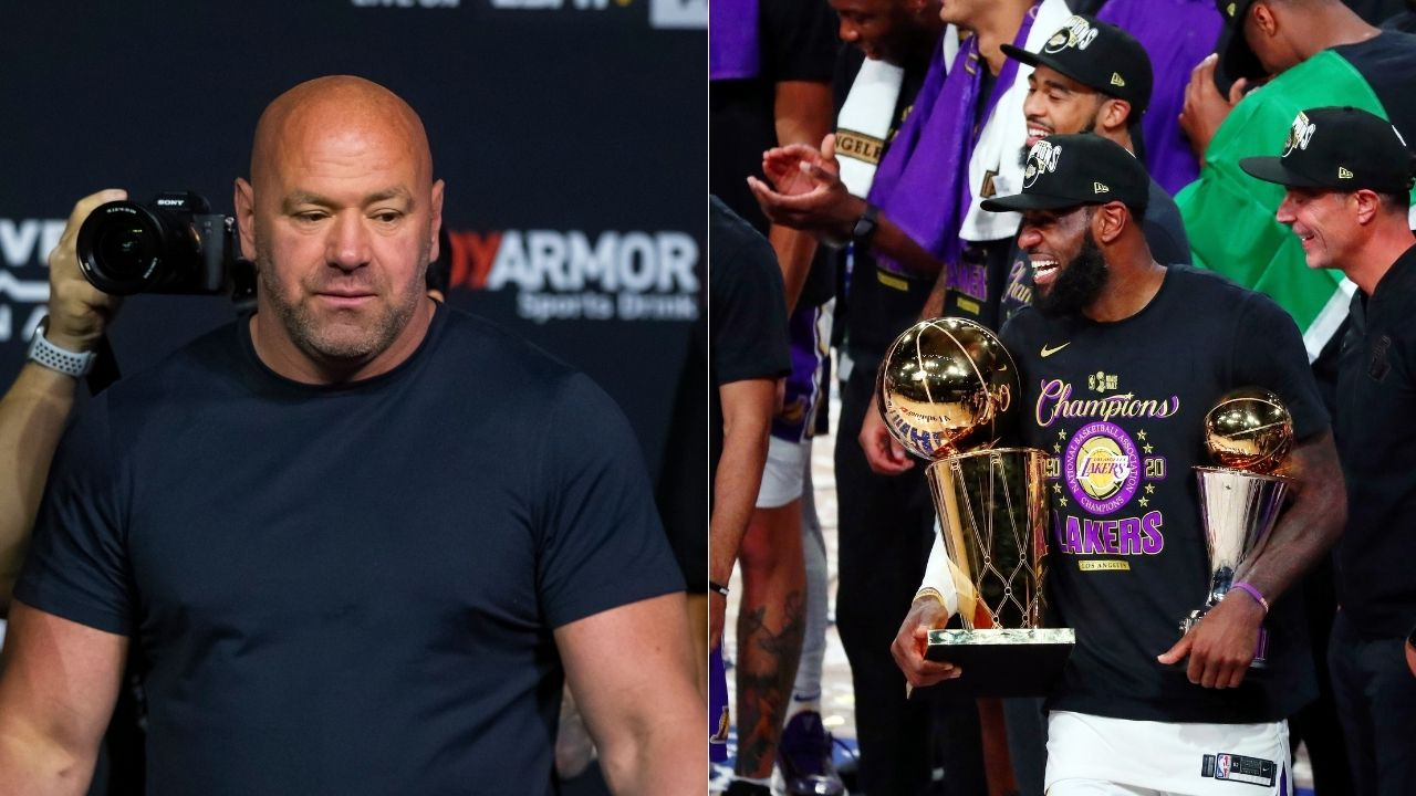 """""""LeBron James is never in trouble and always strives to win"""": UFC President Dana White praises Lakers superstar for his superb journey to GOAT status"""