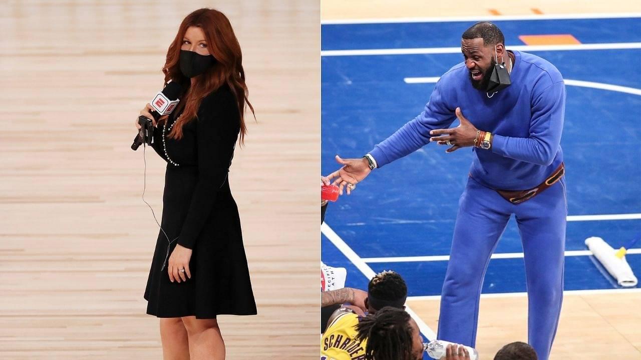 """Rachel Nichols rejoining TNT after ESPN fiasco?"": Former 'The Jump' anchor contemplating career moves after Disney Corp puts her on NBA coverage backburner"
